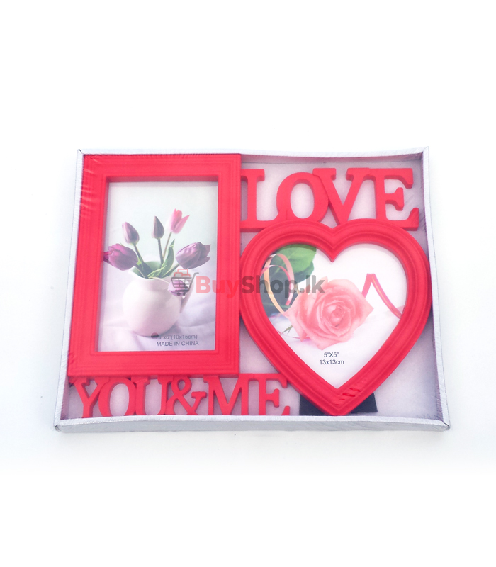 Valentines Day Photo Frame Pink Heart Gifts For Girlfriend Or Wife Online Shopping Sri Lanka Www Buyshop Lk